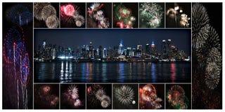 Adiante de julho New York City fotografia de stock