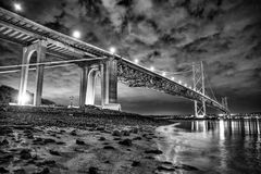 Adiante ponte da estrada Imagens de Stock