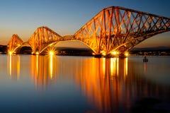 Adiante a ponte do trilho Imagem de Stock Royalty Free