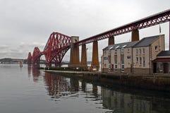 Adiante a ponte do trilho em Escócia é um local do patrimônio mundial do UNESCO Fotos de Stock