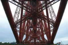 Adiante a ponte do trilho em Escócia é um local do patrimônio mundial do UNESCO Fotografia de Stock