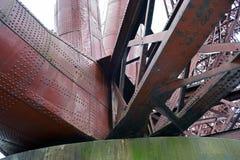 Adiante a ponte do trilho em Escócia é um local do patrimônio mundial do UNESCO Imagens de Stock Royalty Free