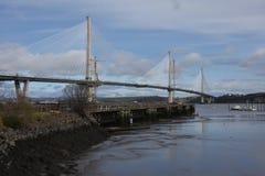 Adiante ponte nova da estrada Fotos de Stock Royalty Free