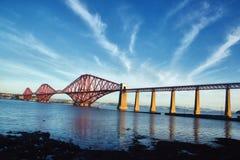 Adiante ponte sob um céu original Imagem de Stock Royalty Free