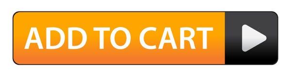 Adicione à tecla do carro ilustração stock
