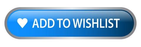 Adicione ao wishlist ilustração stock
