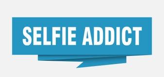Adicto a Selfie stock de ilustración