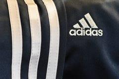 adidas徽标 免版税库存图片