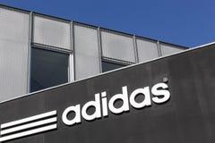 Adidas-Bürogebäude Lizenzfreies Stockfoto
