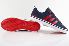 Adidas Classic Sneaker. Top View Royalty Free Stock Photo
