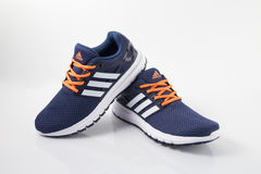 Adidas Classic Sneaker. Top View Royalty Free Stock Photos