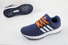 Adidas Classic Sneaker. Top View Royalty Free Stock Image