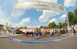 Adidas-Energielauf Lizenzfreie Stockbilder