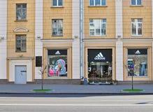 Adidas-Flagship-Store Stockbild
