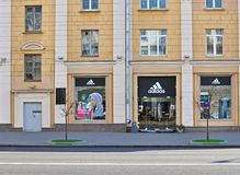 Adidas flagship store Stock Image
