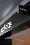 Adidas-Logo Stockfotografie