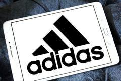 Adidas-Logo Stockfoto