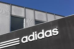 Adidas office building Royalty Free Stock Photo