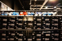 Adidas-Schuhe Lizenzfreie Stockfotografie