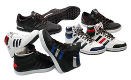 Adidas shoes Royalty Free Stock Images