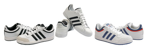 Adidas shoes Stock Photo
