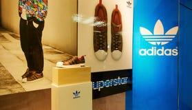 Adidas shoes Royalty Free Stock Photos
