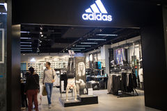 Adidas shop In Central Festival Chiang mai. Stock Images