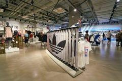 Adidas speichern Lizenzfreies Stockbild