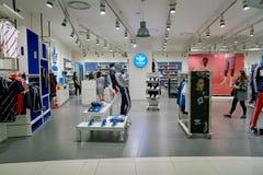 Adidas speichern Lizenzfreies Stockfoto