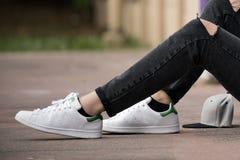 Adidas Stan Smith Photos libres de droits