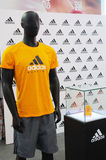 Adidas stand Royalty Free Stock Photo
