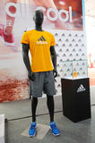 Adidas stand, adidas is all in Stock Photography
