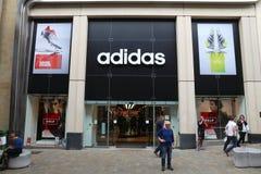 Adidas Store Stock Photos
