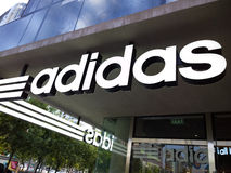 Adidas Store Royalty Free Stock Images