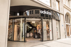 Adidas store Stock Images