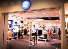 Adidas-Vorlagen-Shop Lizenzfreies Stockbild