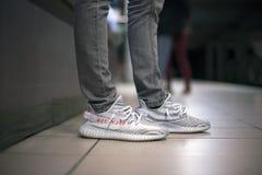 Adidas Yeezy fotos de stock