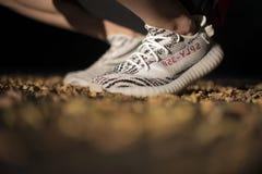 Adidas Yeezy imagens de stock