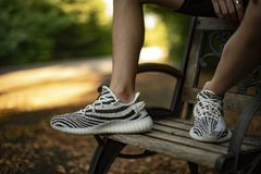 Adidas Yeezy fotografia de stock royalty free