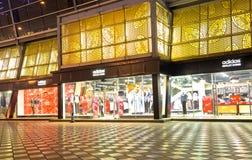 Adiddas Einzelhandelgeschäft Lizenzfreie Stockfotografie