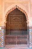 adiennesmarrakech s tombes Royaltyfria Foton
