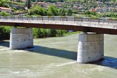 Adige-Fluss Stockbilder