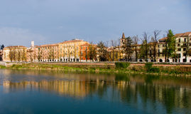 Adige river Royalty Free Stock Photography