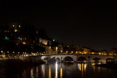 The Adige River that leads through Verona Royalty Free Stock Images