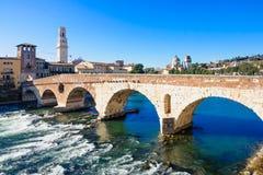 Adige River, Verona Stock Images