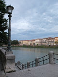 Adige River in Verona Royalty Free Stock Image