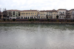 Adige river in Verona Stock Photos