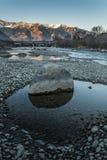 Adige rzeka w Włochy obraz stock