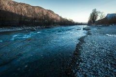 Adige rzeka w Włochy zdjęcia royalty free