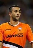Adil Rami des Valencia CF Stockbild